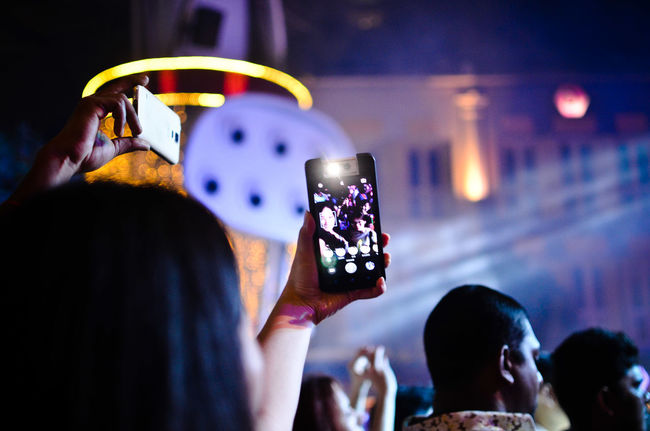 Festival Season Colour Of Life PhonePhotography Concert Photography Selfie ✌ Selfies Vibrant Countdown Party Celebration Festival Music Music Festival EyeEm Best Shots EyeEm Best Edits Nikon D5100  35mm People And Places Dramatic Angles Mobile Conversations