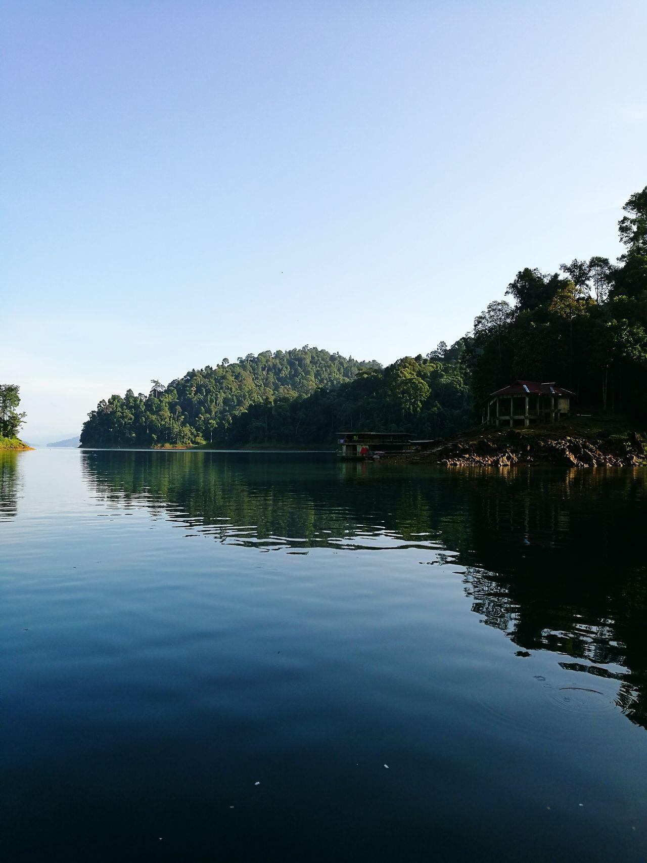 Reflection Water Tree Sky Lake Aquatic Nature Reflection Lake No People Outdoors Kenyir Kenyir Lake Terengganu