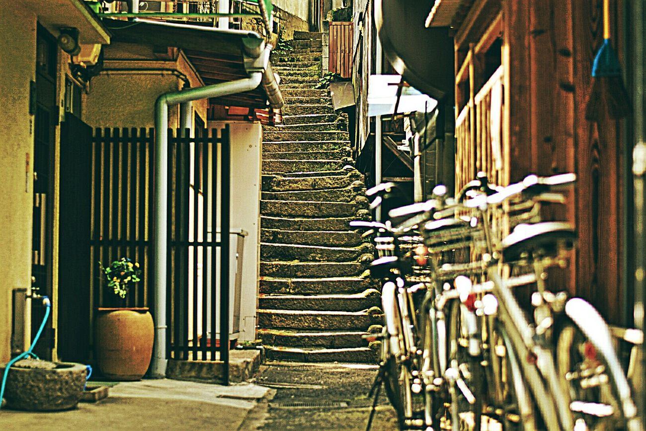 街並みシリーズ 裏路地 宮島 広島 Miyajima Hiroshima Japan
