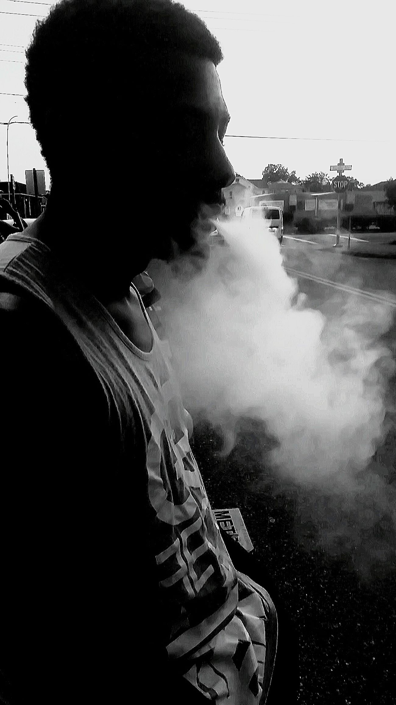 One Person Adults Only Adult People Standing Close-up Day Smoke Smoked Out Smokebomb The Portraitist - 2017 EyeEm Awards VapeSmoke Vapesociety Vapegram Vapenation Vapetricks Vape4life Vapefam BYOPaper!