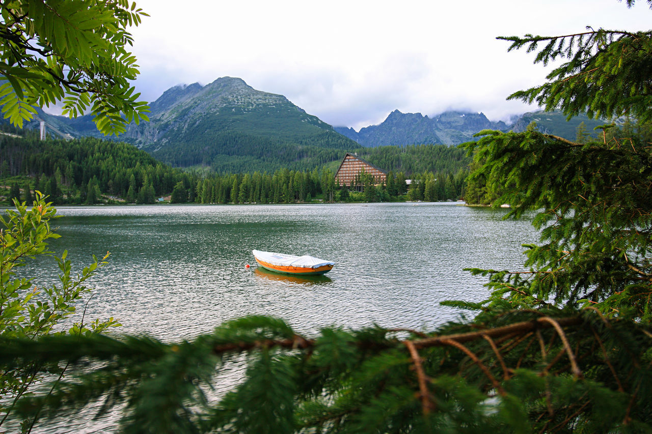 Strbske Pleso Beauty In Nature Csorba-tó EyeEm Best Shots EyeEm Nature Lover Fresh Air High Tatras Hiking Lake Lakeside Landscape Mountain Mountain Landscape Mountains Natural Beauty Nature Nature No People Outdoors Pond Sky Slovakia Strbske Pleso Tree Vysoke Tatry Water
