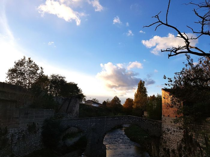 Bridge River Désafecté Lost Paris Seine Clouds Beauty In Nature Light And Shadow Gorgeous European  FromFrance From My Point Of View Day Nofilter Morning Europe Trip Tourism Architecture Sunset Arrival Landscape No People Outdoors Sky