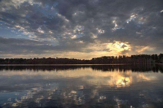 A Carmel Sunrise - HDR, 0+/-2, Photomatix Hdr_Collection Landscape Reflection EyeEm Best Shots - Sunsets + Sunrise