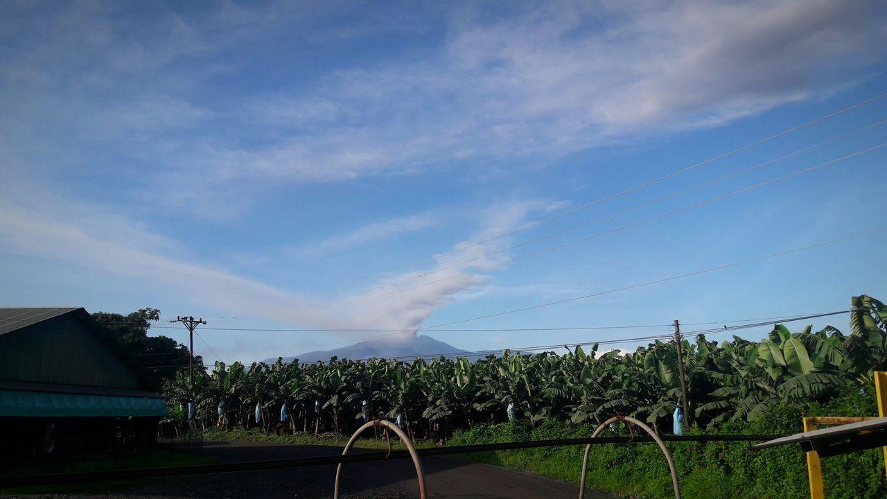Cloud - Sky Banana Farm Volcano Turrialba Volcano Active Volcano Guácimo