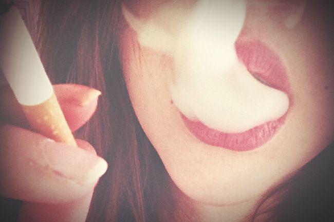 That's Me Smoke Cigarettes Mouth Lips