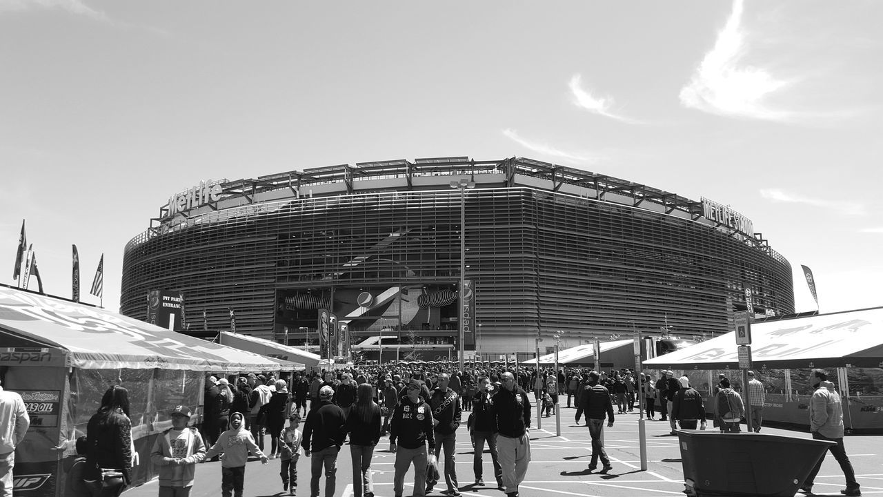 "I am having a lot of fun searching for the items in your pictures! Keep em coming! EyeEmSpy a water bottle, ninja turtle, backpack, ""dream"" Bnw_friday_eyeemchallenge EyeEmSpy Blackandwhite Game Crowd MetLife Stadium Monochrome EyeEm Best Shots - Black + White Everybodystreet People Watching"