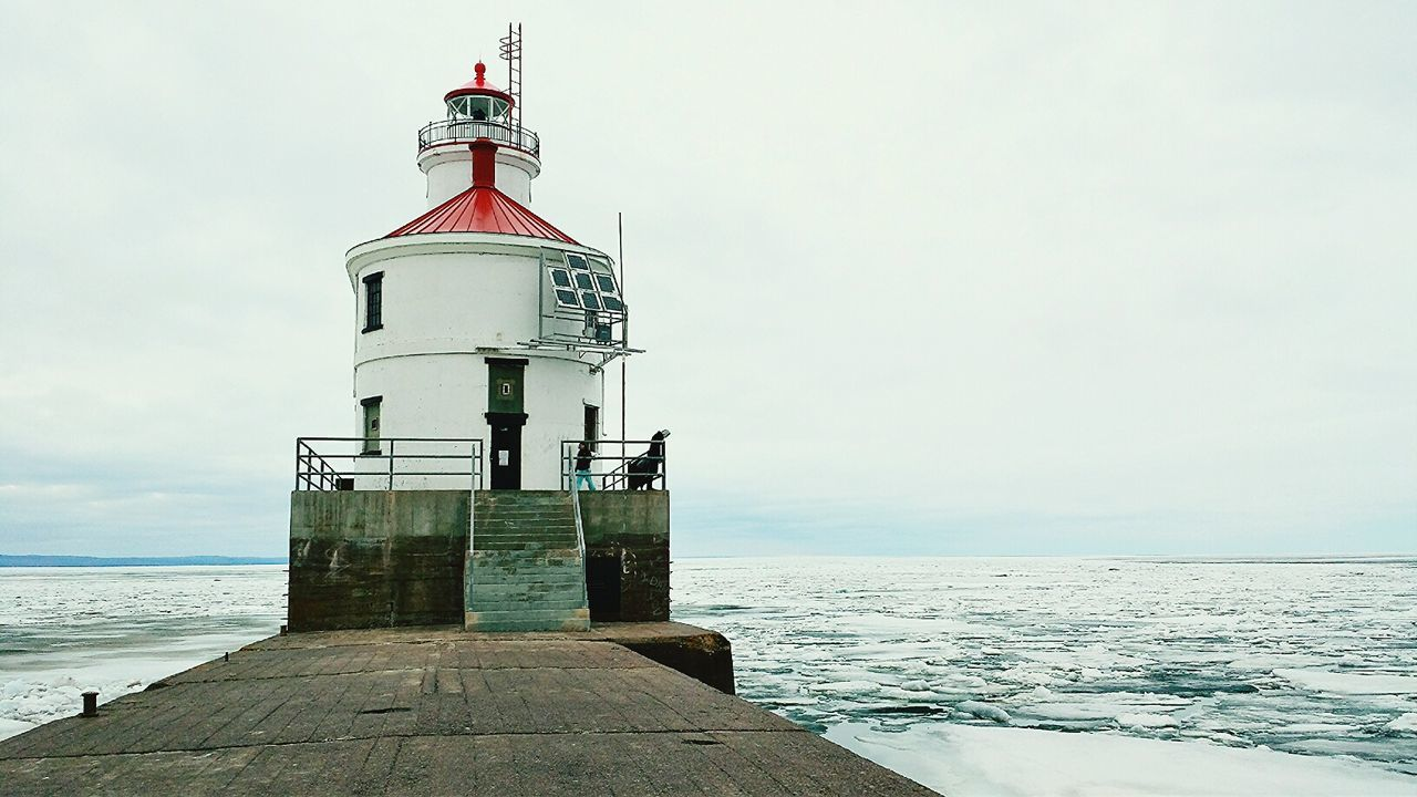 Beautiful stock photos of lighthouse, Architecture, Building Exterior, Built Structure, Cold Temperature