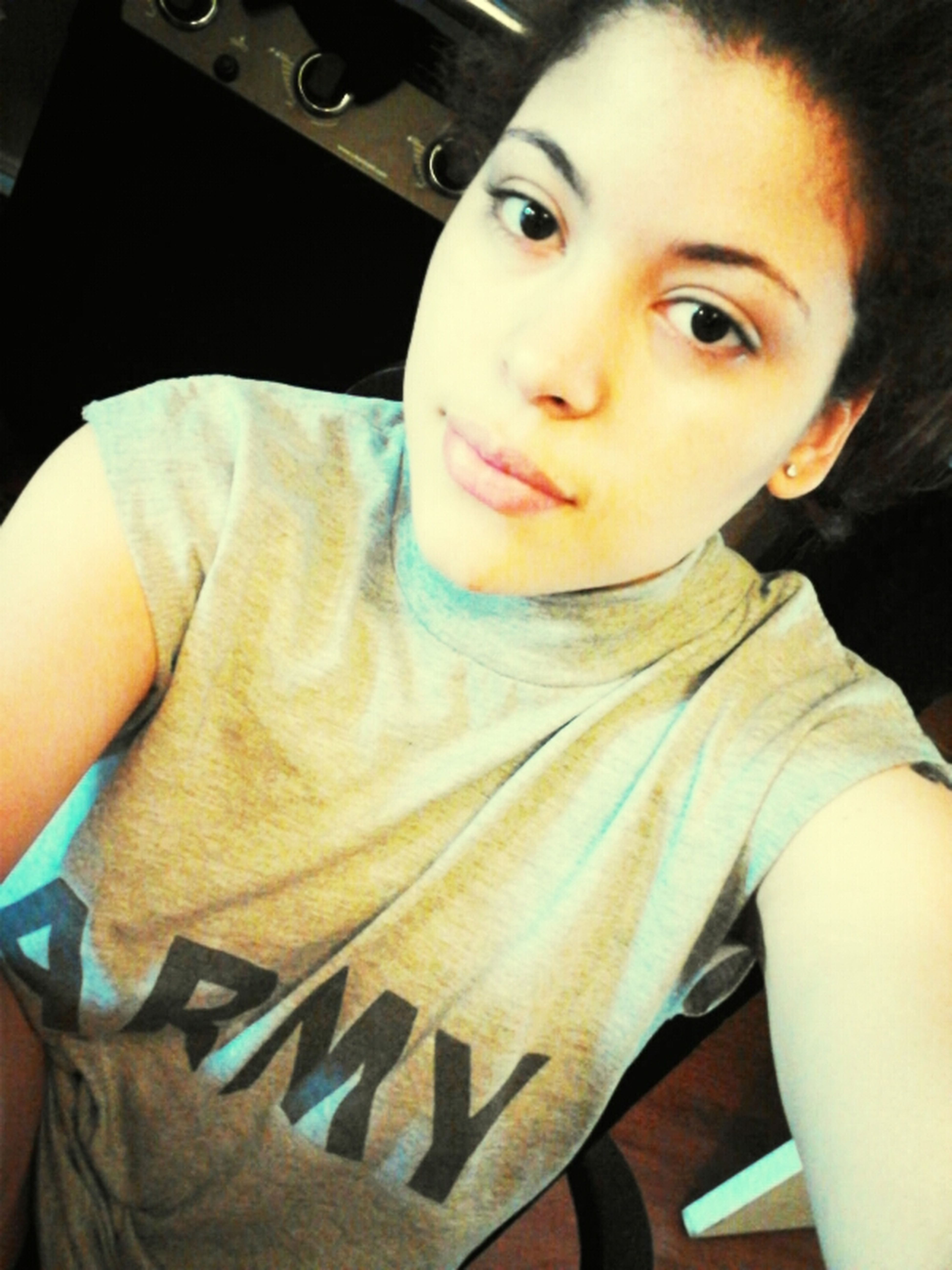 Waking Up With My Bf Shirt On <3