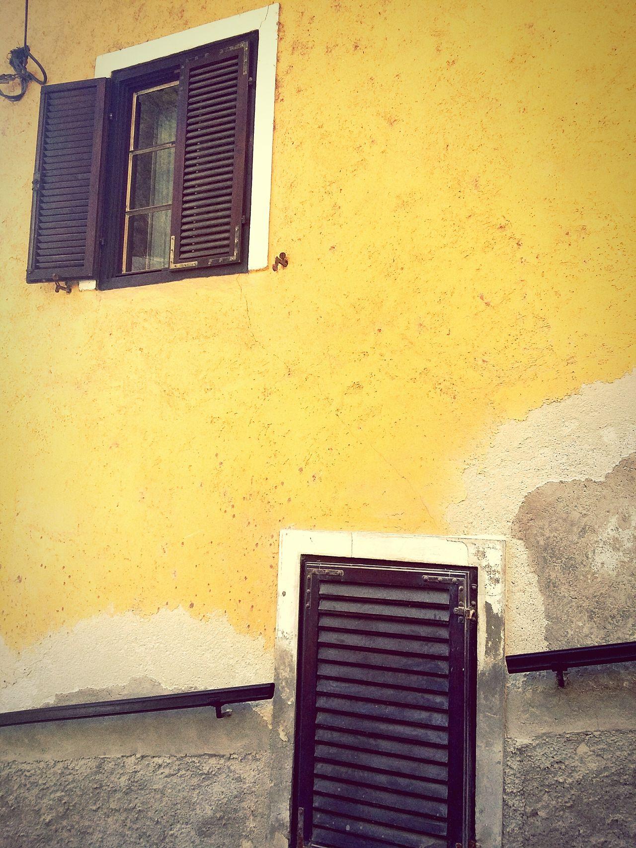 Ljubljana Slovenia Ljubljana Castle Doors Shutters Yellow