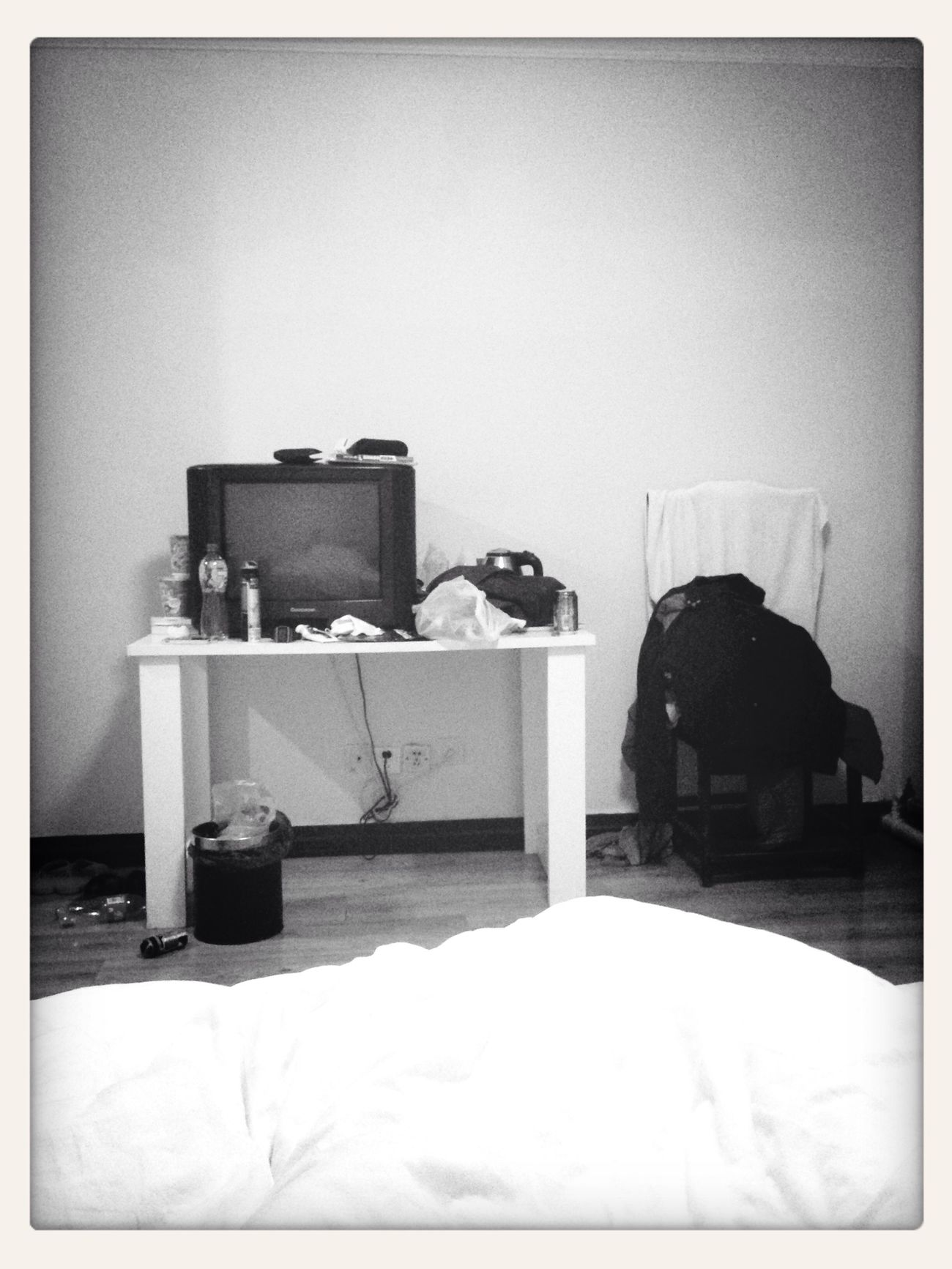 Random Bedroom Hostel Boring a boring morning at the hostel in Beijing... First Eyeem Photo