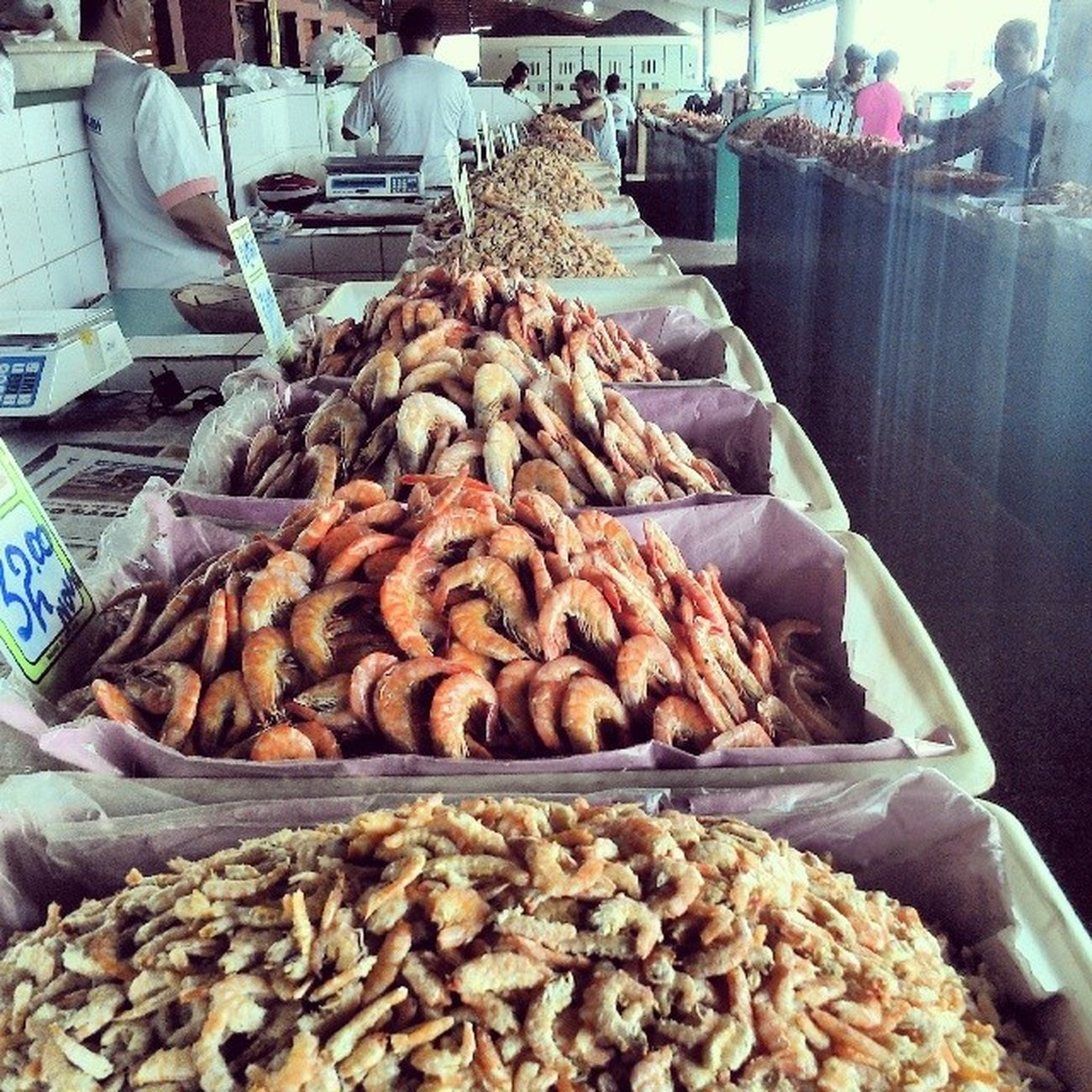 Sequência de camarão seco.. Va a feira de seu bairro e bom e faz bem