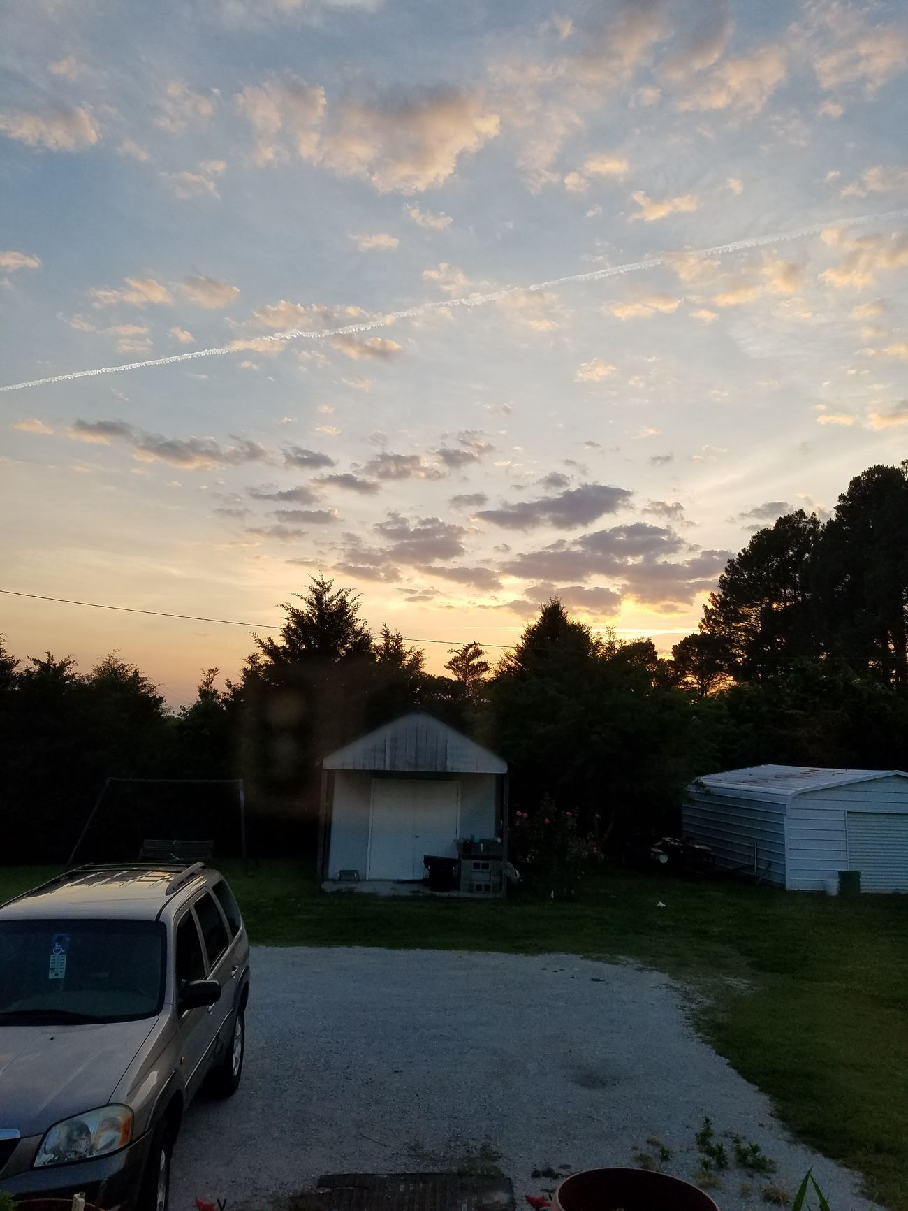 Evening Sky Ujustgotkaied Evening Sky Landscape Clouds Trees Nature First Eyeem Photo