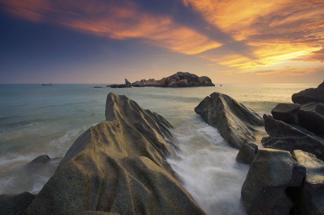 Beautiful stock photos of bora bora,  Cloud - Sky,  Dramatic Sky,  Horizon Over Water,  Horizontal Image