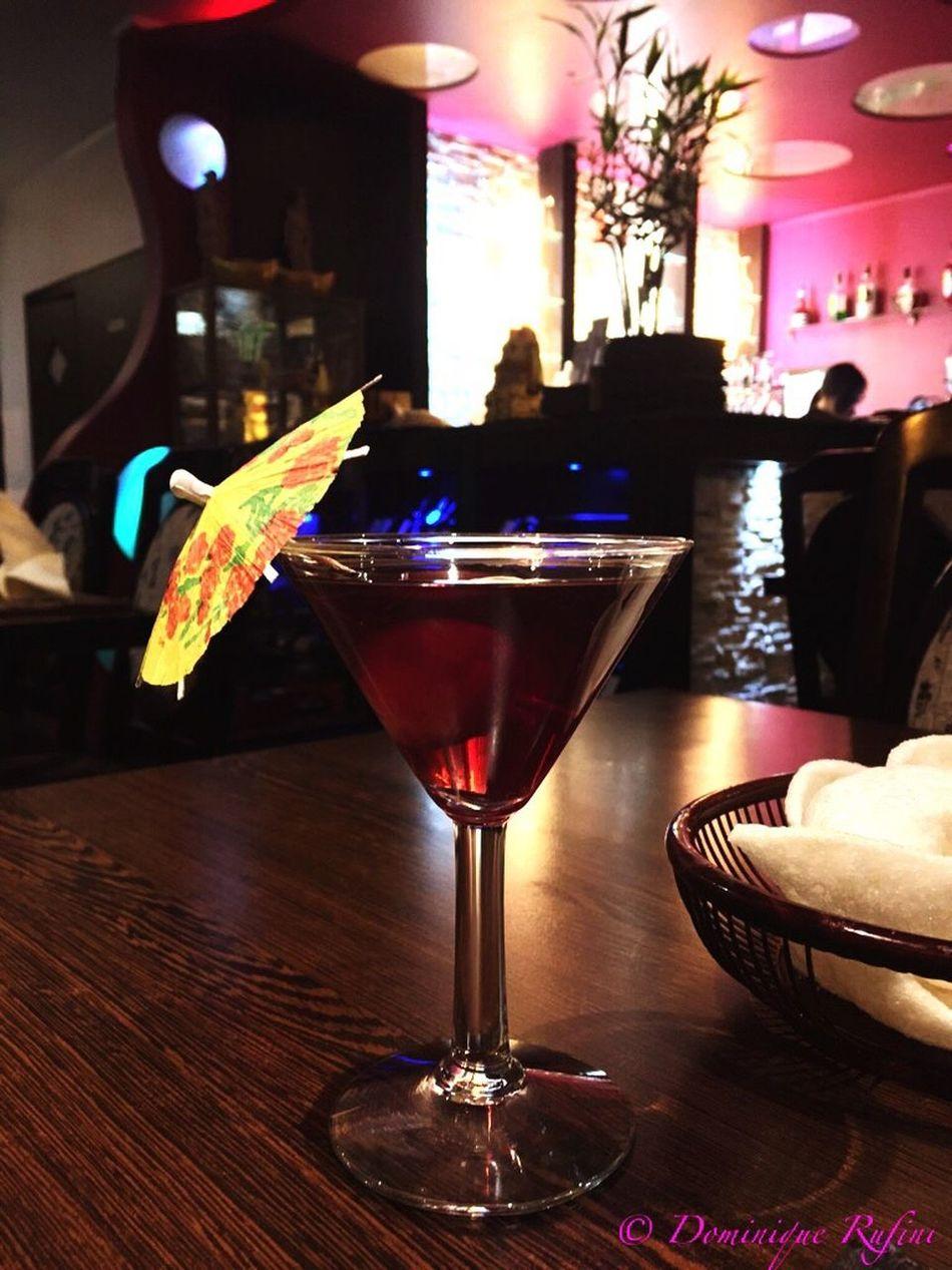 Cocktail Cocktails🍹 Cocktails🍹🍸 Cocktails Cocktail Umbrella Litchi Litchis Chinese Restaurant