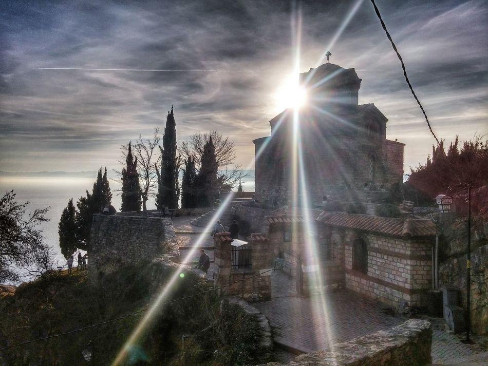 Kaneo Monastery Jovankaneo Sunshine Art EyeEm Macedonia