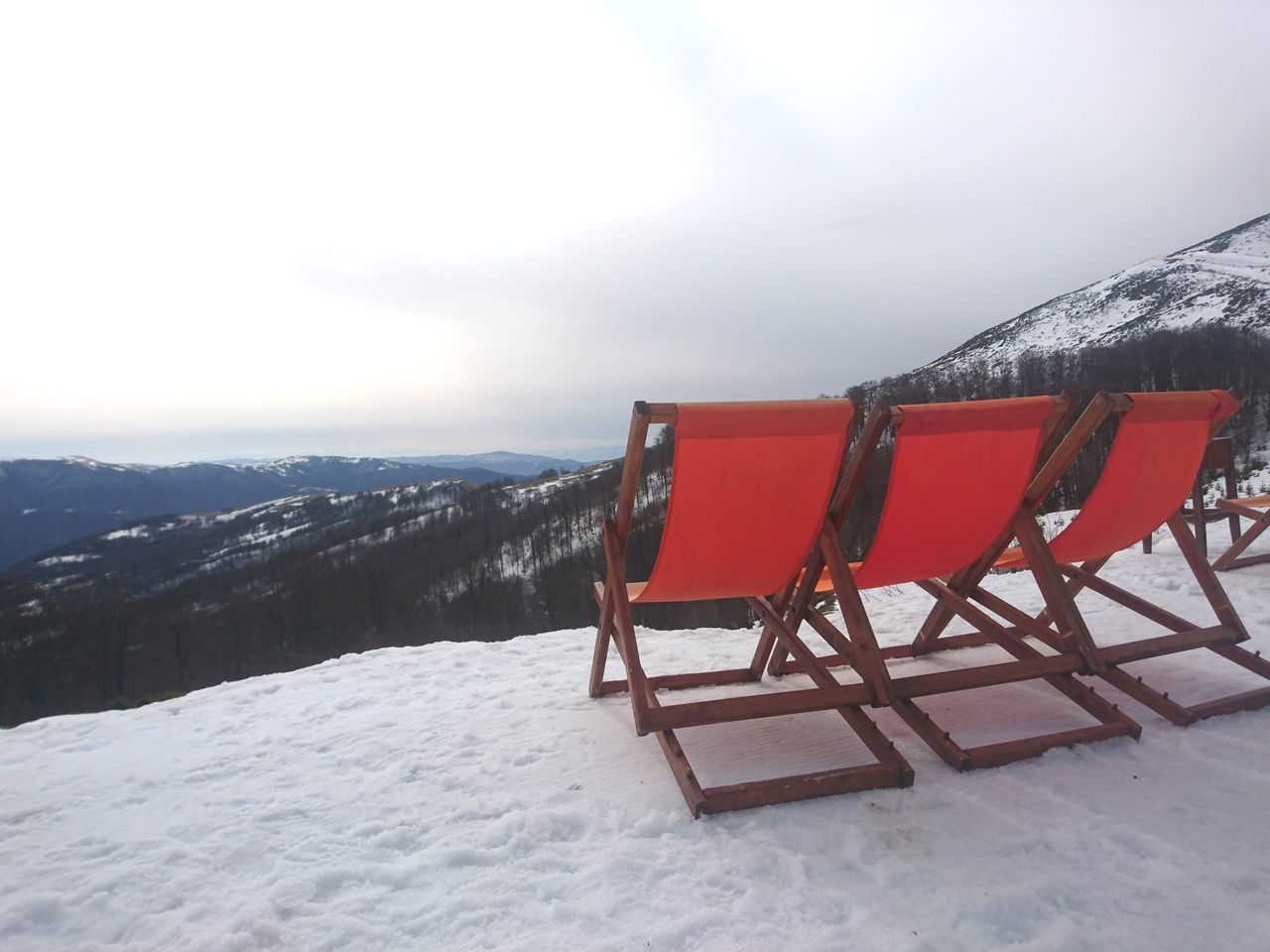 Winter Snow Cold Temperature Snowcapped Mountain Sport Nature Sky No People Outdoors Landscape Mountain Day Beach Chairs Winter Low Angle View Ski Resort  Tranquility Beauty In Nature Cloud - Sky Serbia Stara Planina Gloomy Weather Mysterious