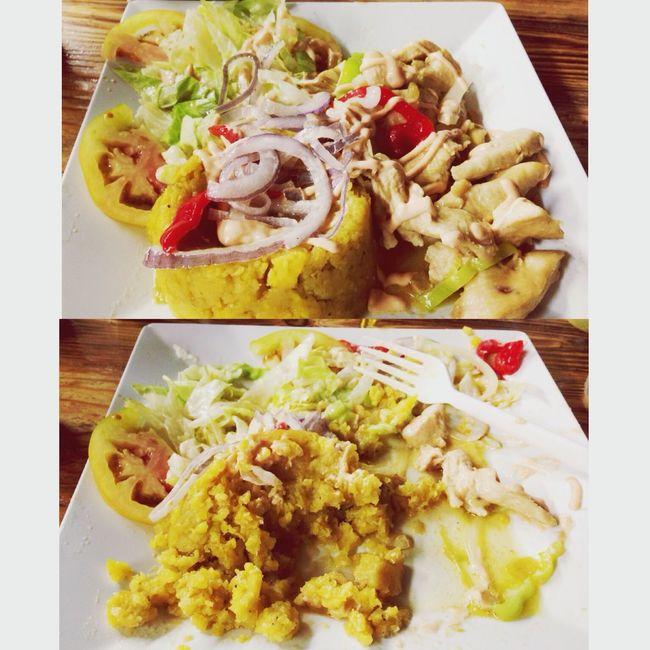 Food Yummy Mofongo Delicious ??❤️? My birthday ???