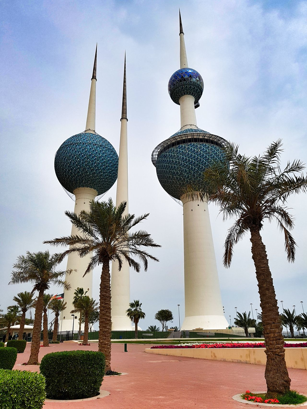 Kuwait Tower No People Low Angle View Travel Destinations Kuwait Towers cloud Cloud - Sky