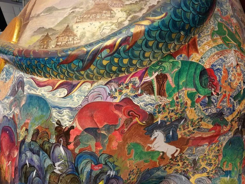 Thaistory Elephant Art Signatory King Of Thailand Story Photography