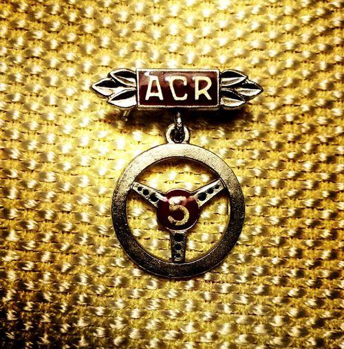 Vintage Romanian Automobile Club badge Badges Romania collectable art Vintage Cars Aimiamos Automobile Ancienne
