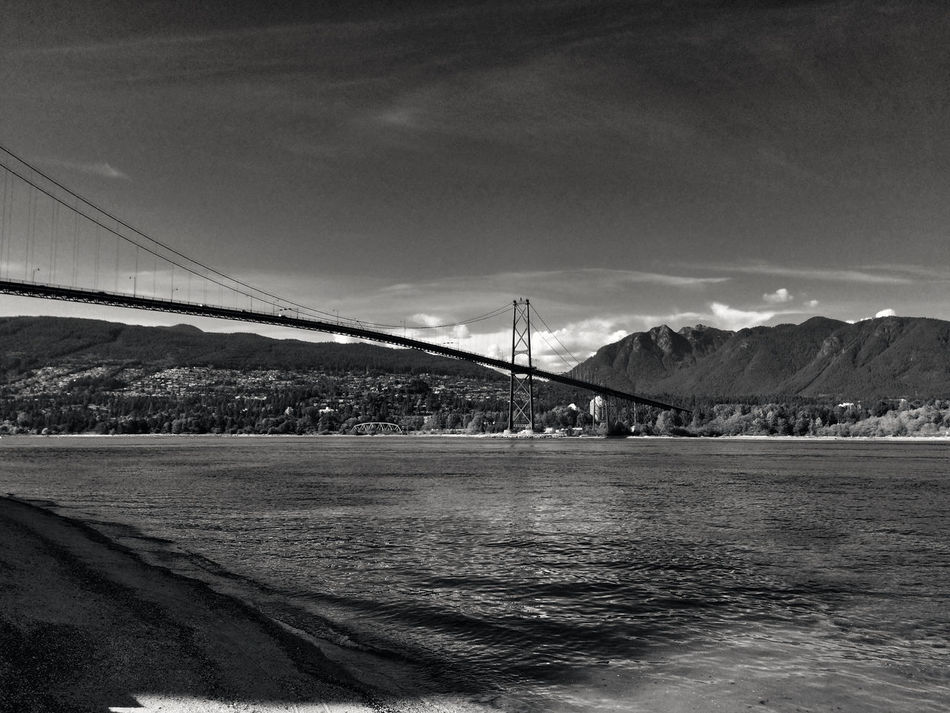 Landscape Landscape_Collection Sound Of Life Water_collection Blackandwhite Stanley Park Shades Of Grey