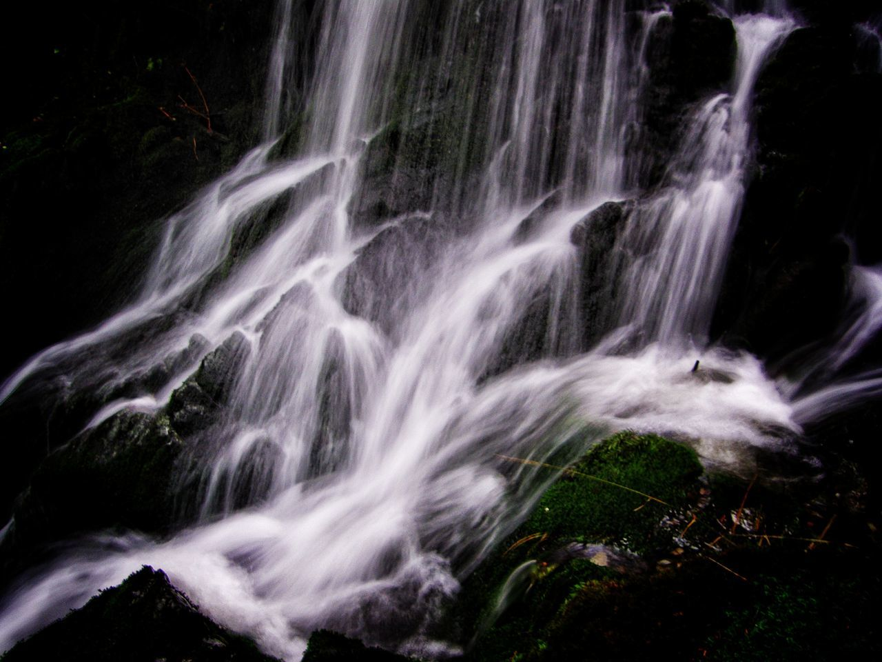 scenics, no people, nature, waterfall, motion, long exposure, beauty in nature, water, outdoors, travel destinations, day, sky