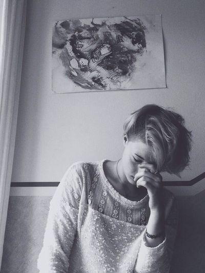 Blackandwhite Selfportrait Supersize Yourself With Whitewall The Portraitist - 2014 EyeEm Awards
