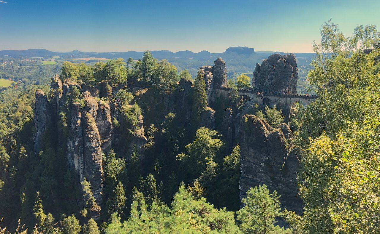 Nature Mountain Scenics Beauty In Nature Landscape Outdoors Dresden Bastei