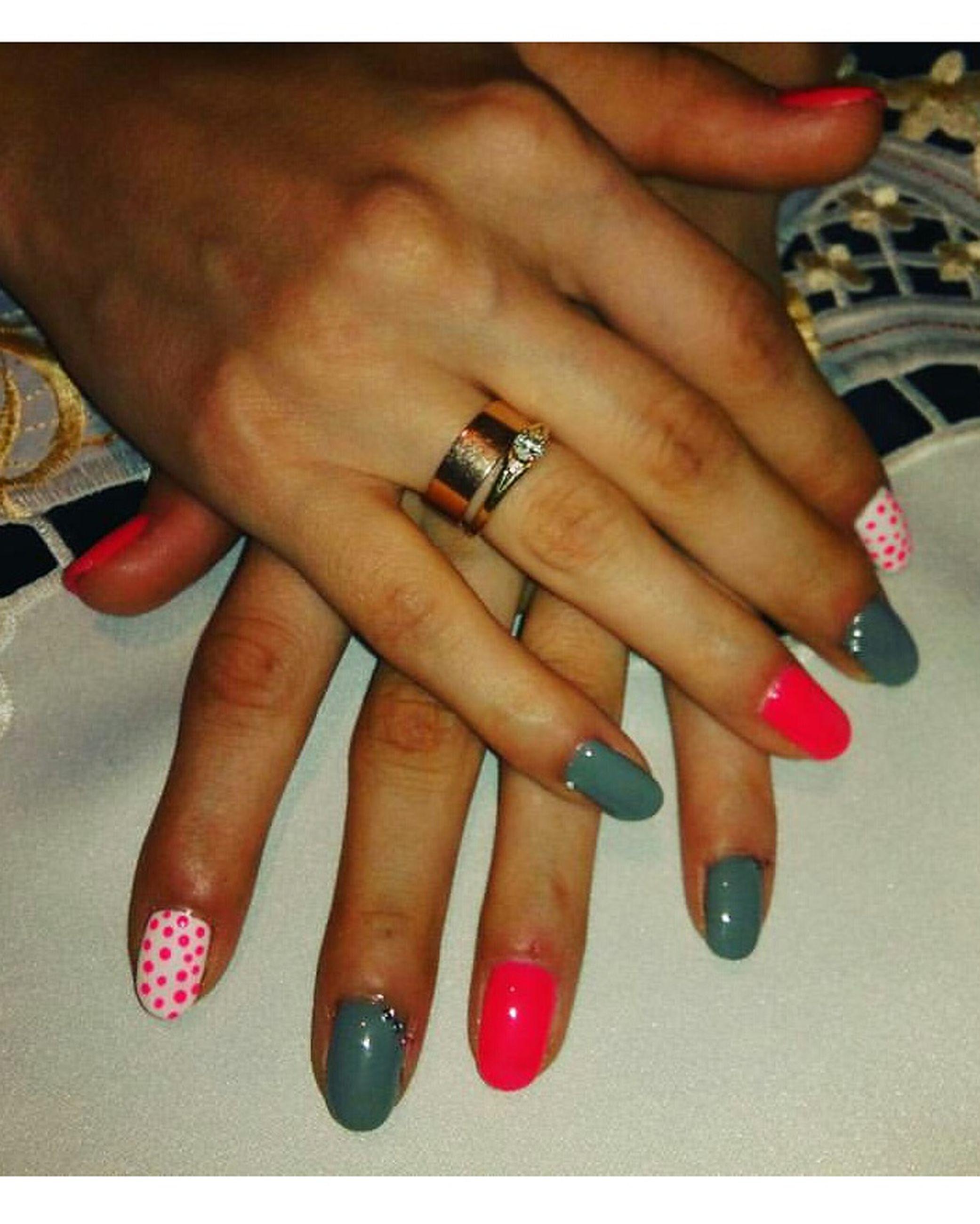 human body part, human hand, nail art, ring, close-up, people, adults only, fingernail, adult, nail polish, one person