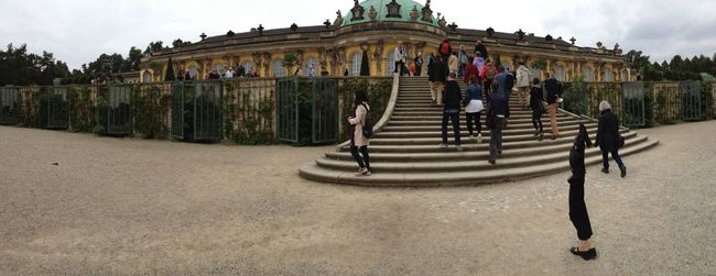 Sightseing in Potsdam near Berlin Taking Photos On A Holiday