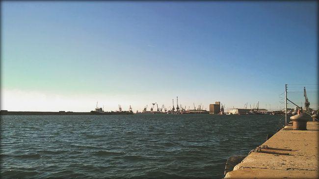 Port Thessaloniki Sea Boats Portview Day Eyem Sunnyday Streetphotography Mechanics