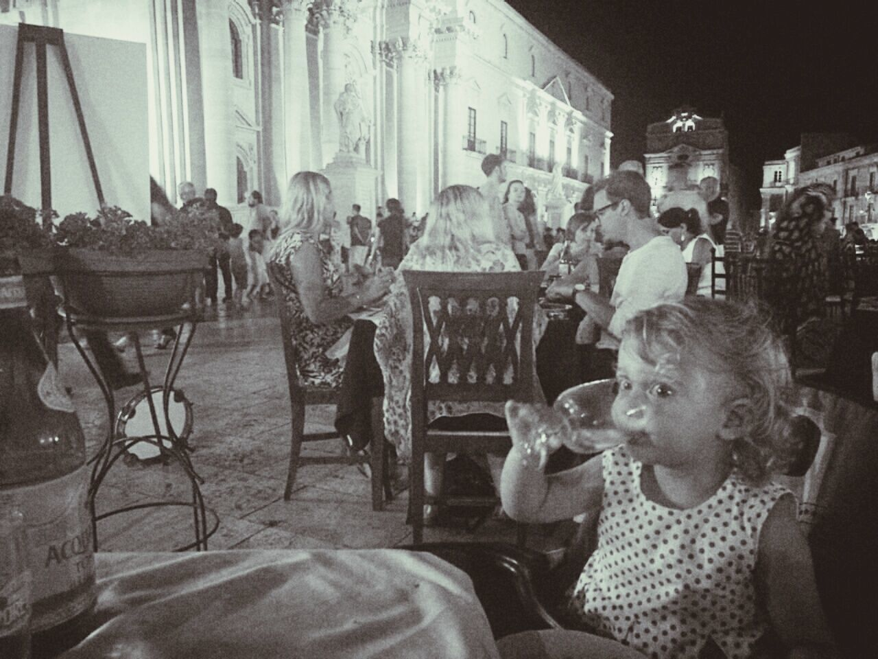 Baby Toddler  Toddlerlife Glamor Baby Glamour Baby Pinkie Finger Proper Baby Drinking Night Black And White Photography Siracusa