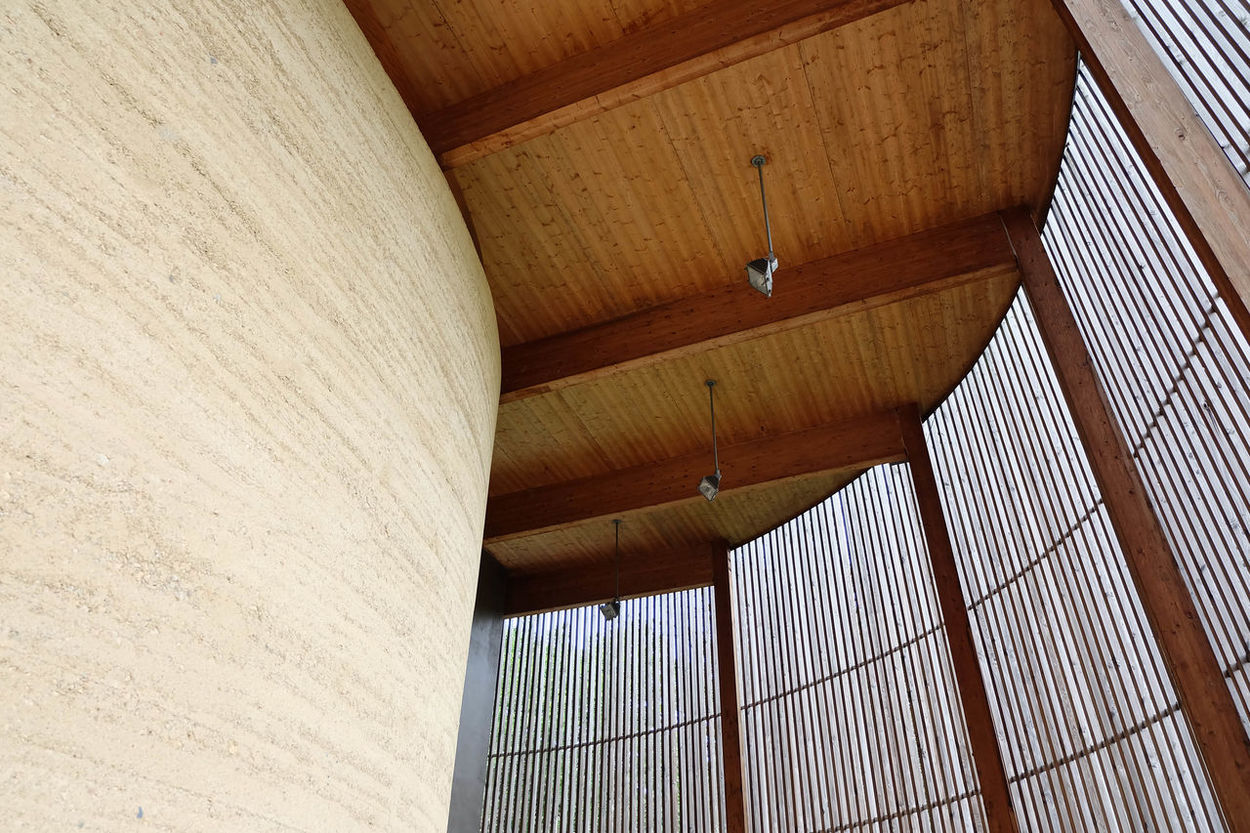 Architecture Chapel Chapelle Indoors  Leading Lines Paris Pattern Rammed Earth Religion