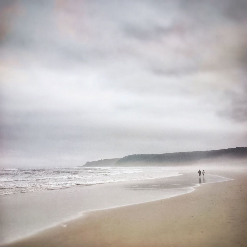 Plettenberg Beach South Africa. Sea Beach Water Horizon Over Water Sky Nature Scenics Cloud - Sky Beauty In Nature Wave Outdoors One Person Sand Real People Men Vacations Day People Plettenberg Bay Plettenberg South Africa