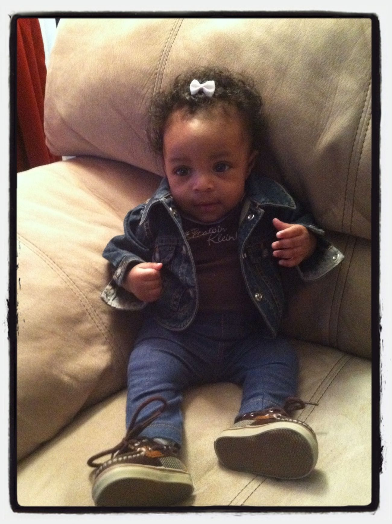 My Booski W/her Sperrys On