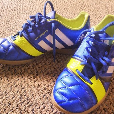 @adidasfootball New boots.... Old but Gold!! Adidas Nitrocharge