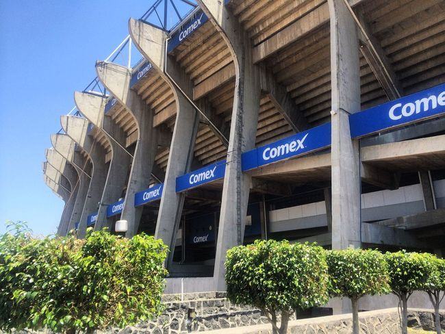 Stadium Estadioazteca Mexico City Futbol Soccer Estadio Fifa Football Football Stadium Football Field