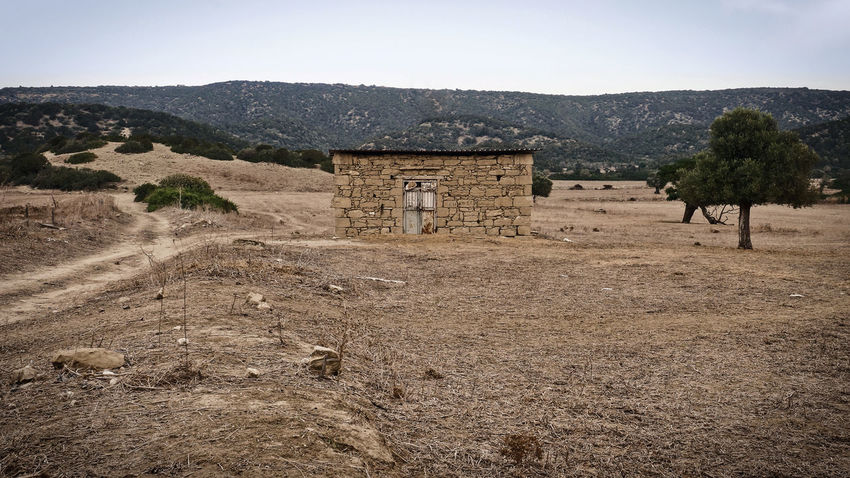 Cyprus Isolated Rural Abandoned Architecture Arid Climate Barren Building Exterior Built Structure Day Desert House Isolation Karpaz Landscape Mountain Nature No People North Cyprus Outdoors Remote Rural Scene Scenics Tree