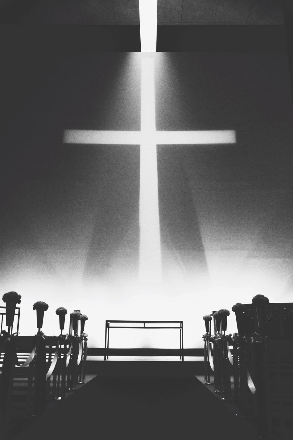 海之教堂 Sea Church Blackandwhite Black & White Architecture Japan Japan Photography Tadao Ando Awaji Awaji Island Church Light And Shadow Light Cross Monochrome Ultimate Japan