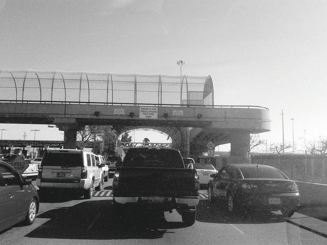 Pedestrian BridgeU. S. Mexico Border OtayISO400 Cameraphone