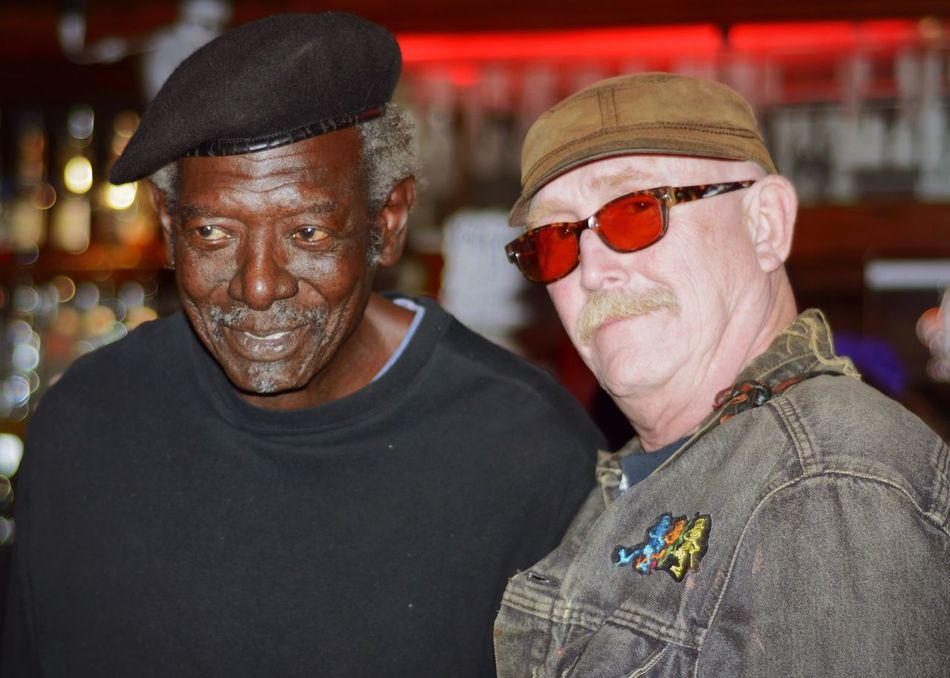 My buddies Clyde and Paul. Both are Vietnam War Vets, and the coolest people you'd ever be lucky enough to meet! Check This Out Hanging Out Enjoying Life Eye4photography  Black And White Black & White Veterans Vietnam Veterans Friends