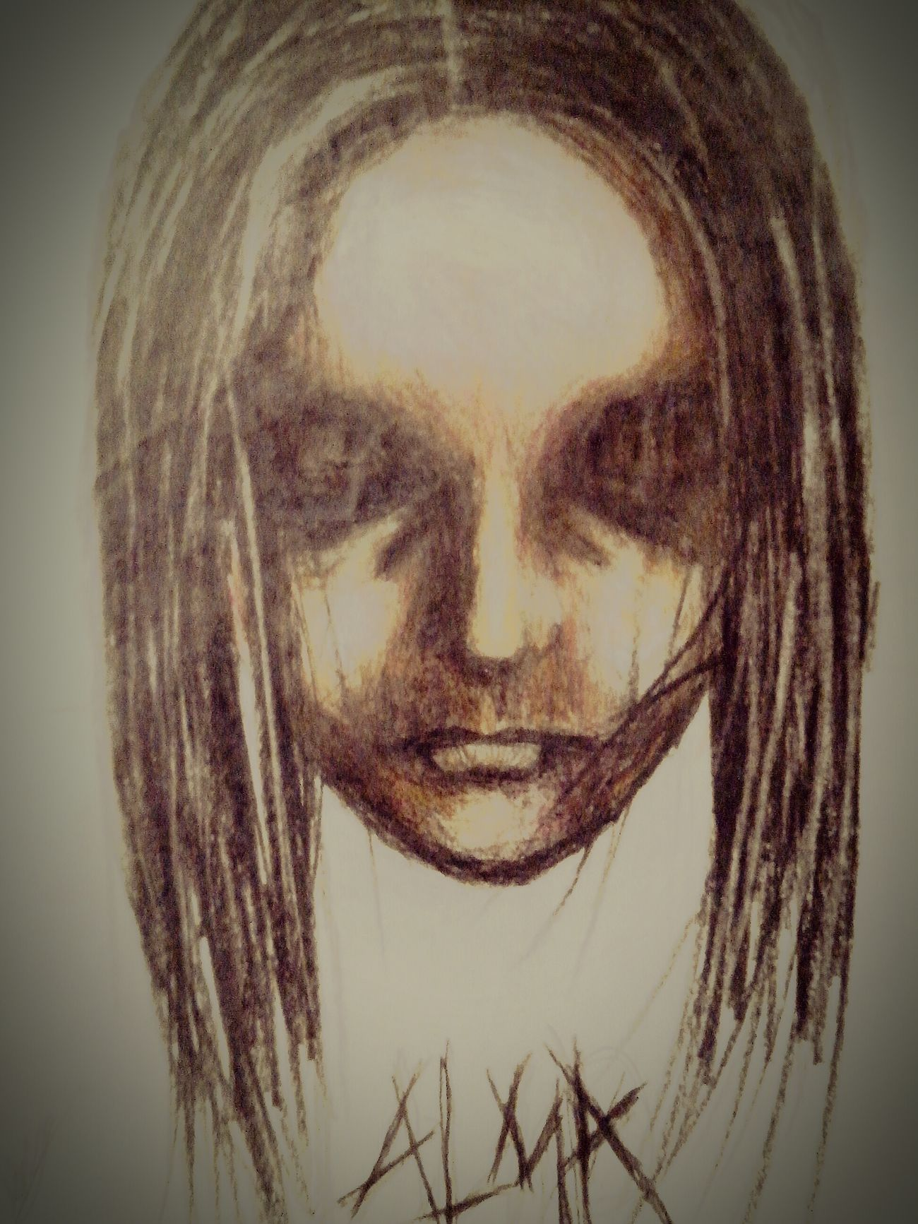 ArtWork Pencil Drawing Dark F.E.A.R. Fear Draw Drawing Art Artist Artistic Expression