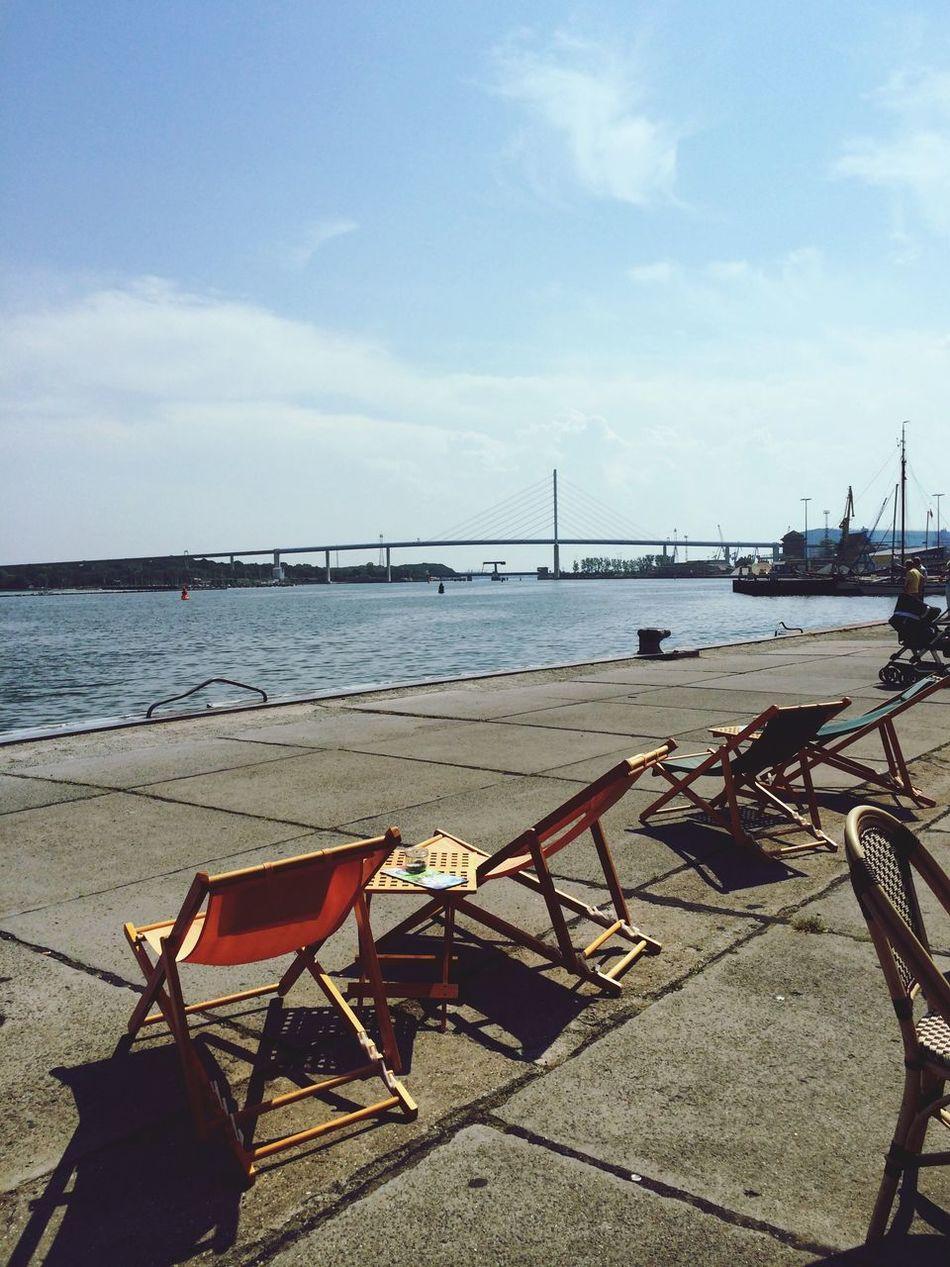 Rügenbrücke Espresso Walking Around Ostsee Stralsund