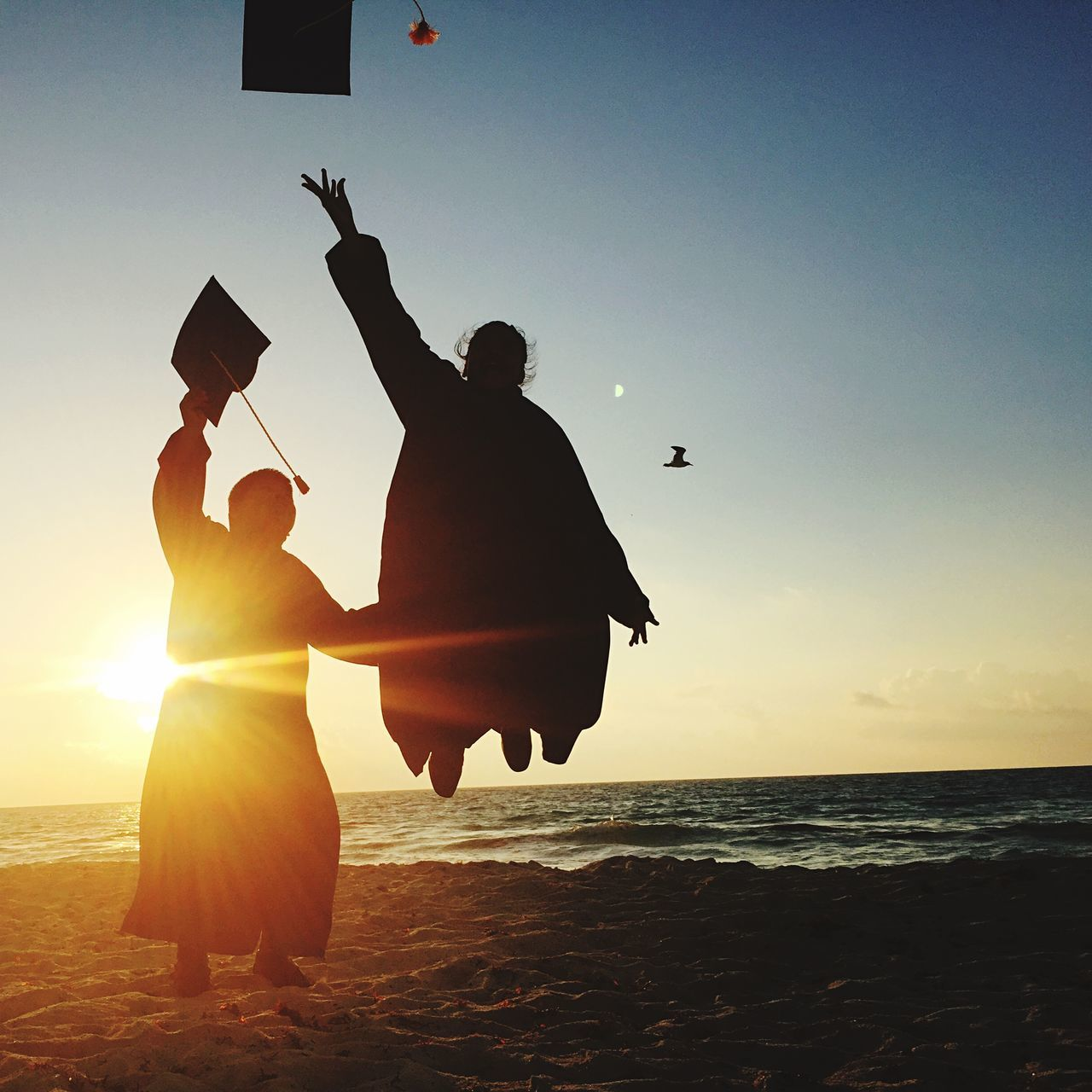 Beautiful stock photos of graduation, Beach, Calm, Clear Sky, Coastline
