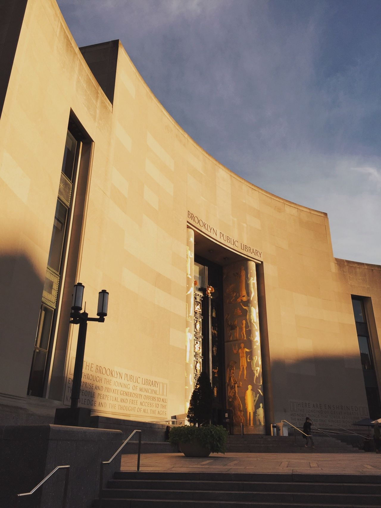 Beautiful stock photos of library, Architecture, Brooklyn Public Library, Building Exterior, Built Structure
