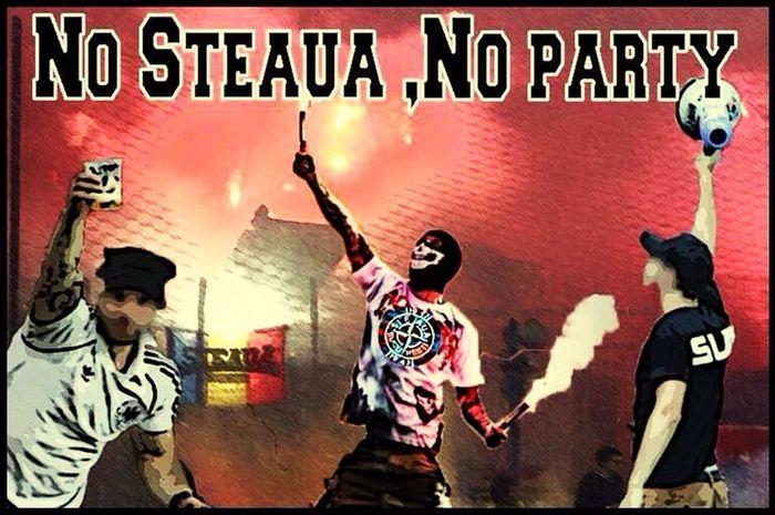 Steaua Bucuresti Ultras Hooligans Peluza Sud Csa 1947