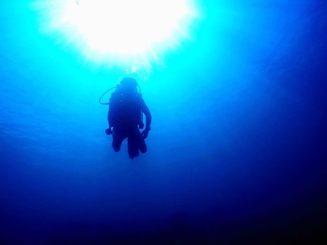 Thank allah because give a chance to see another world. 'Underwater world' Goprohero4 Underwater Diving Scuba Diving Island