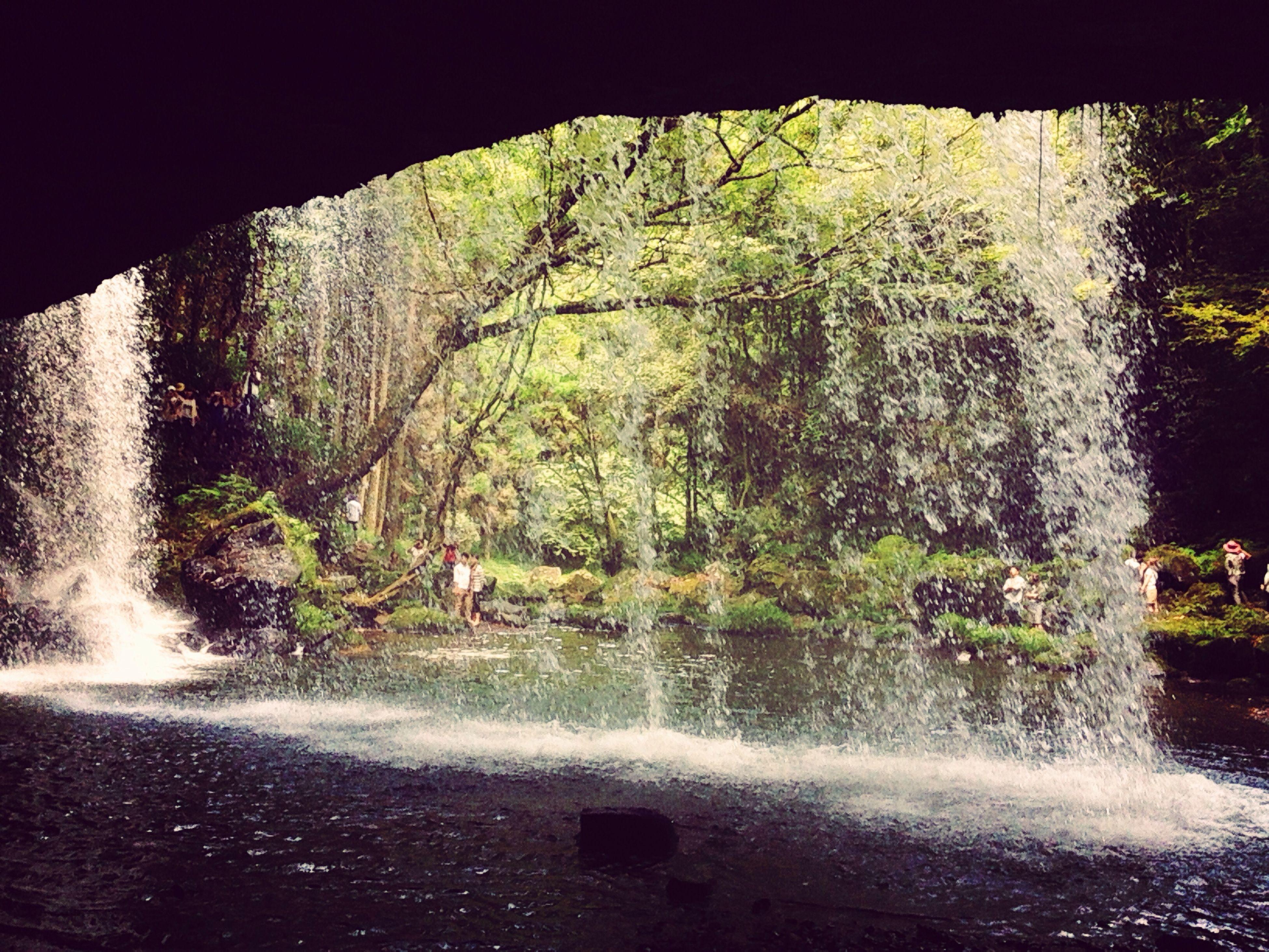 滝 滝の裏 小国 阿蘇