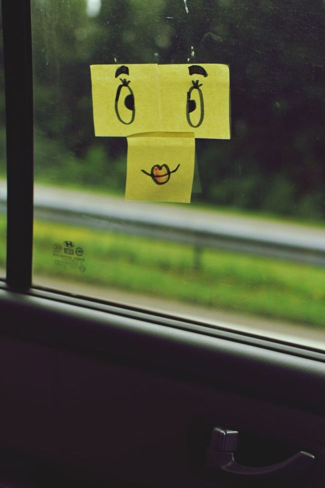 Traveling Happy Happy Journey ..!! Journey Car Travel On The Road In A Car In The Car Smile Smiley Smiley Face