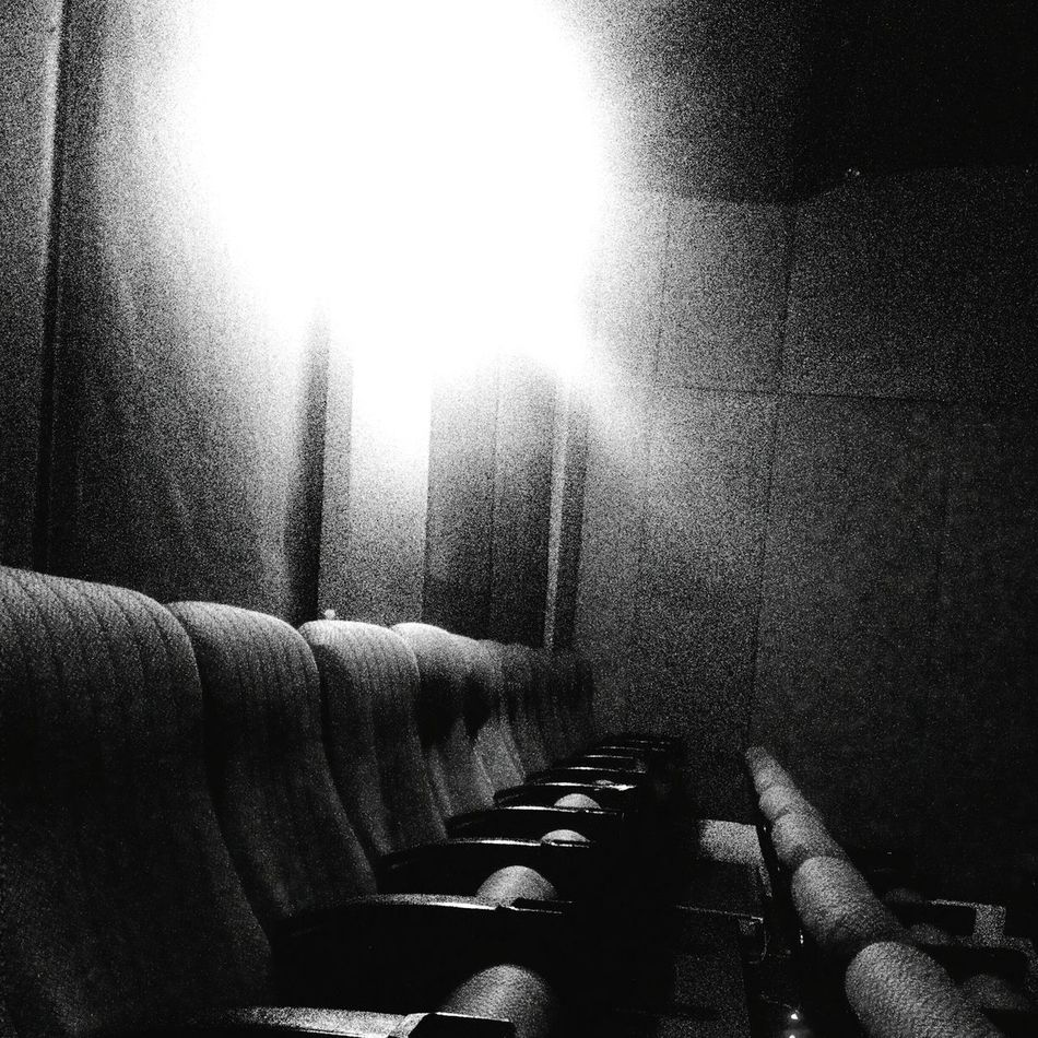Moviehouse Black And White Photography